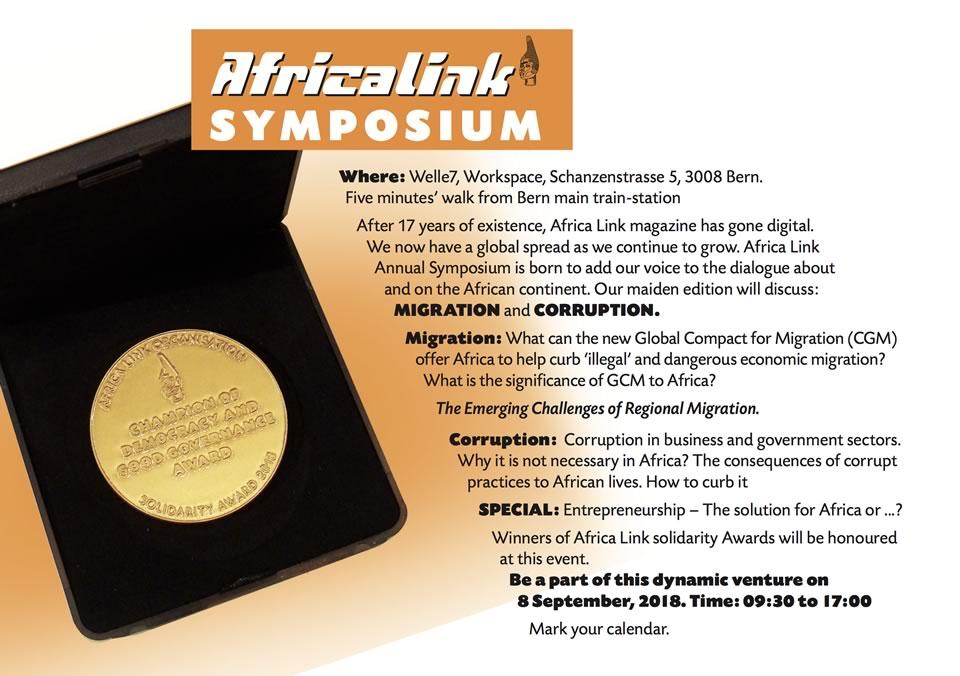 Africa Link Symposium Flyer